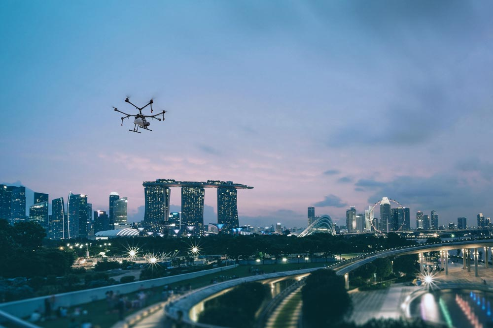 Airspace Security in an Urban Environment